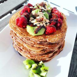 Pancakes Chocolatés