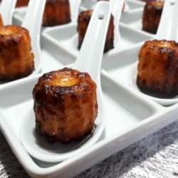 Cannelés Chorizo Gruyère