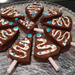 Sapins de Noël Chocolat