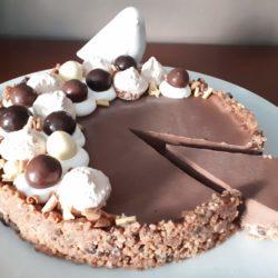 Tarte Panna Cotta Chocolat