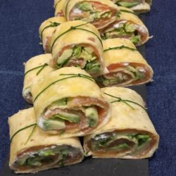 wraps saumon avocat