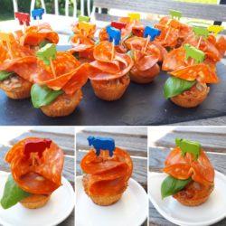 Muffins Chorizo