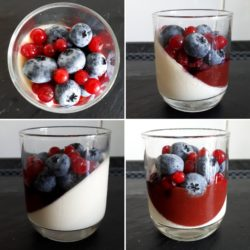 Panna Cotta Fruits Rouge