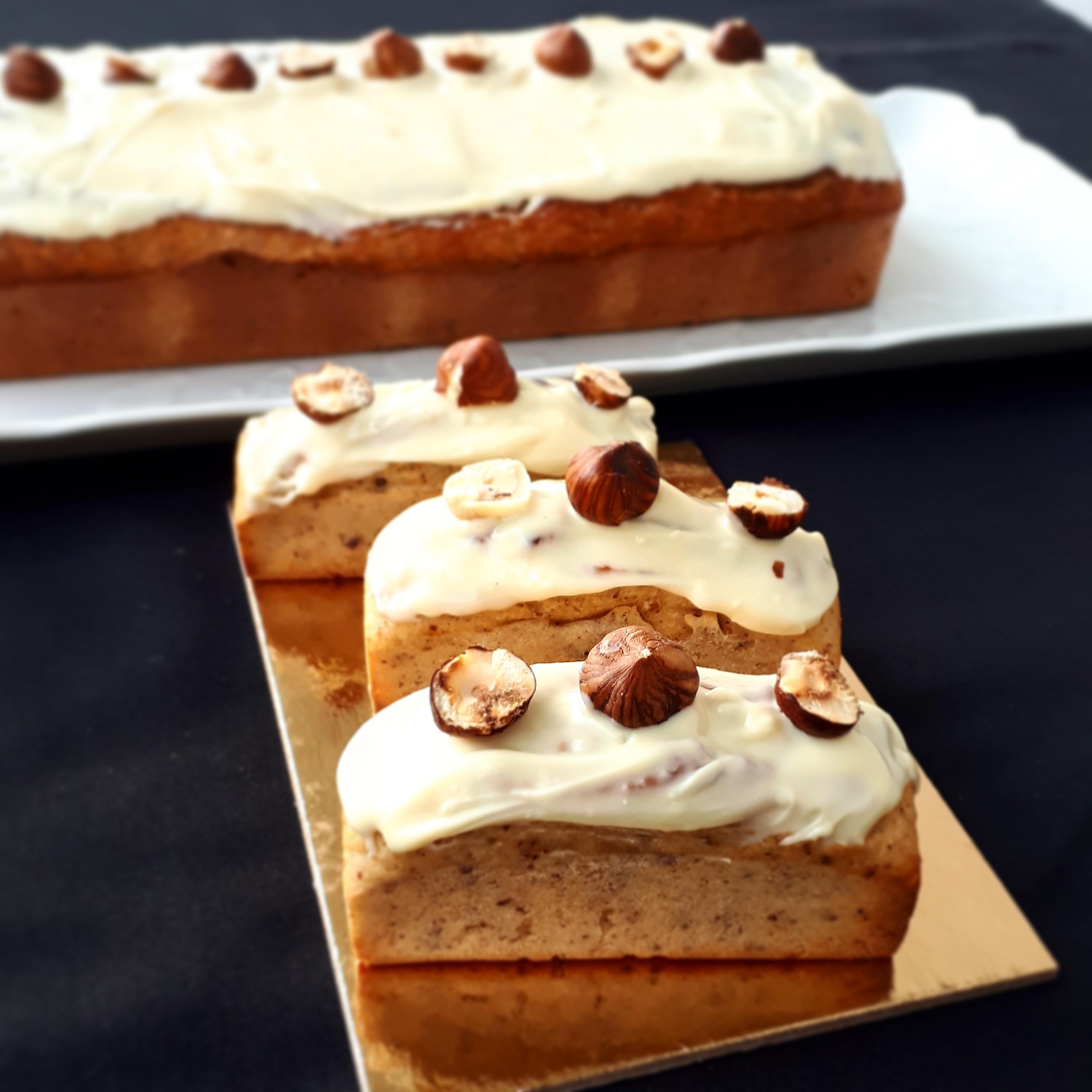 Cake citron noisettes healthy
