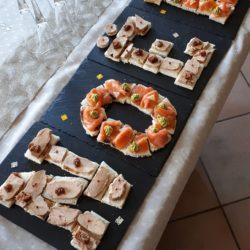 Letter cake de_Noël