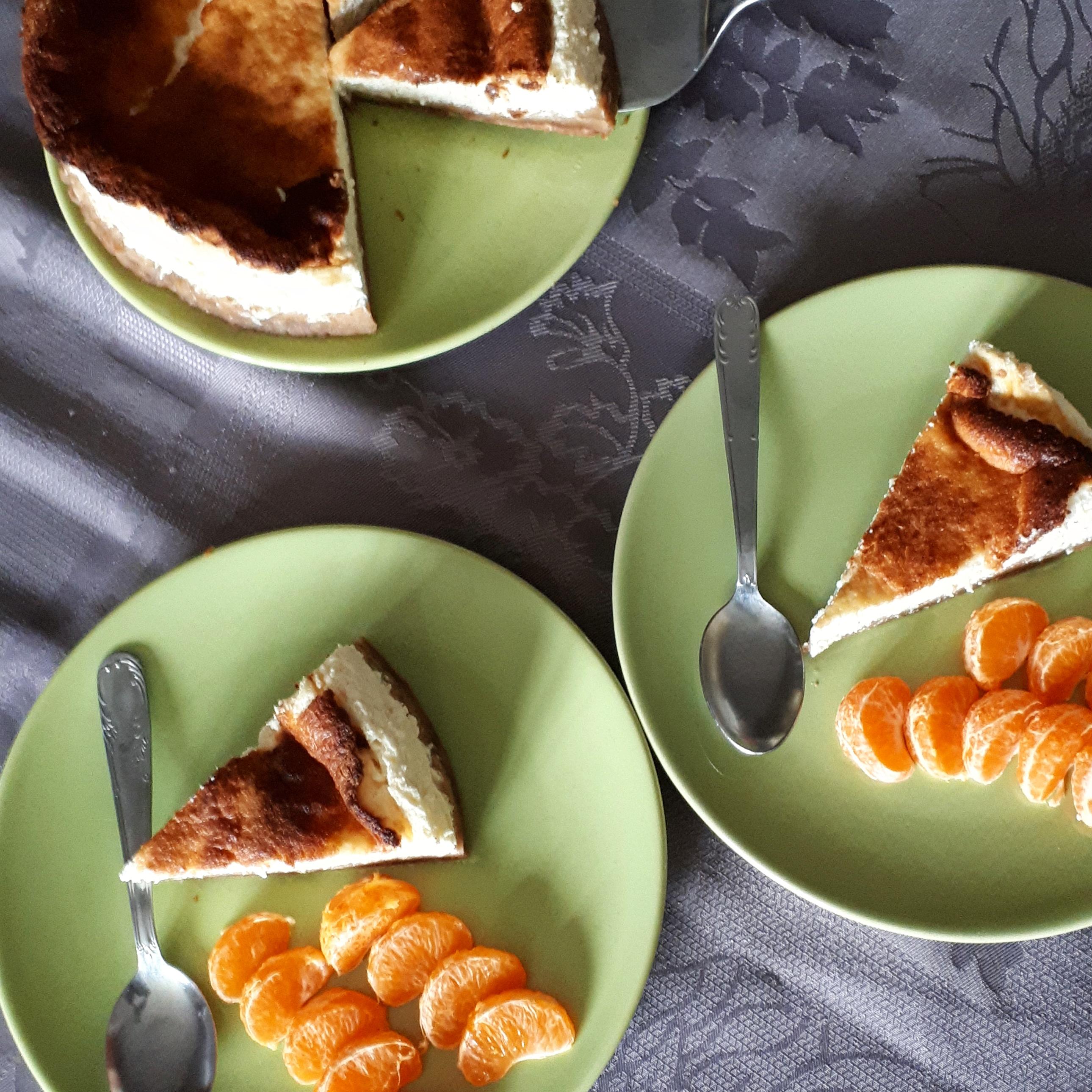 Cheesecake léger citron