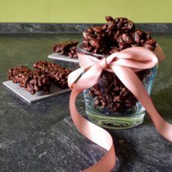 Bouchées chocolatées d'épeautre soufflé