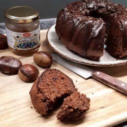Gâteau chocolat crème de marrons