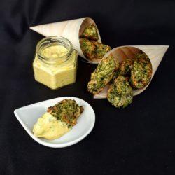 Croquettes brocolis gruyère