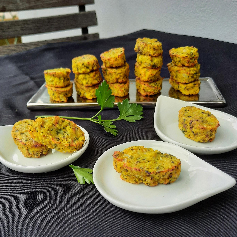 Croquettes chou-fleur curry parmesan