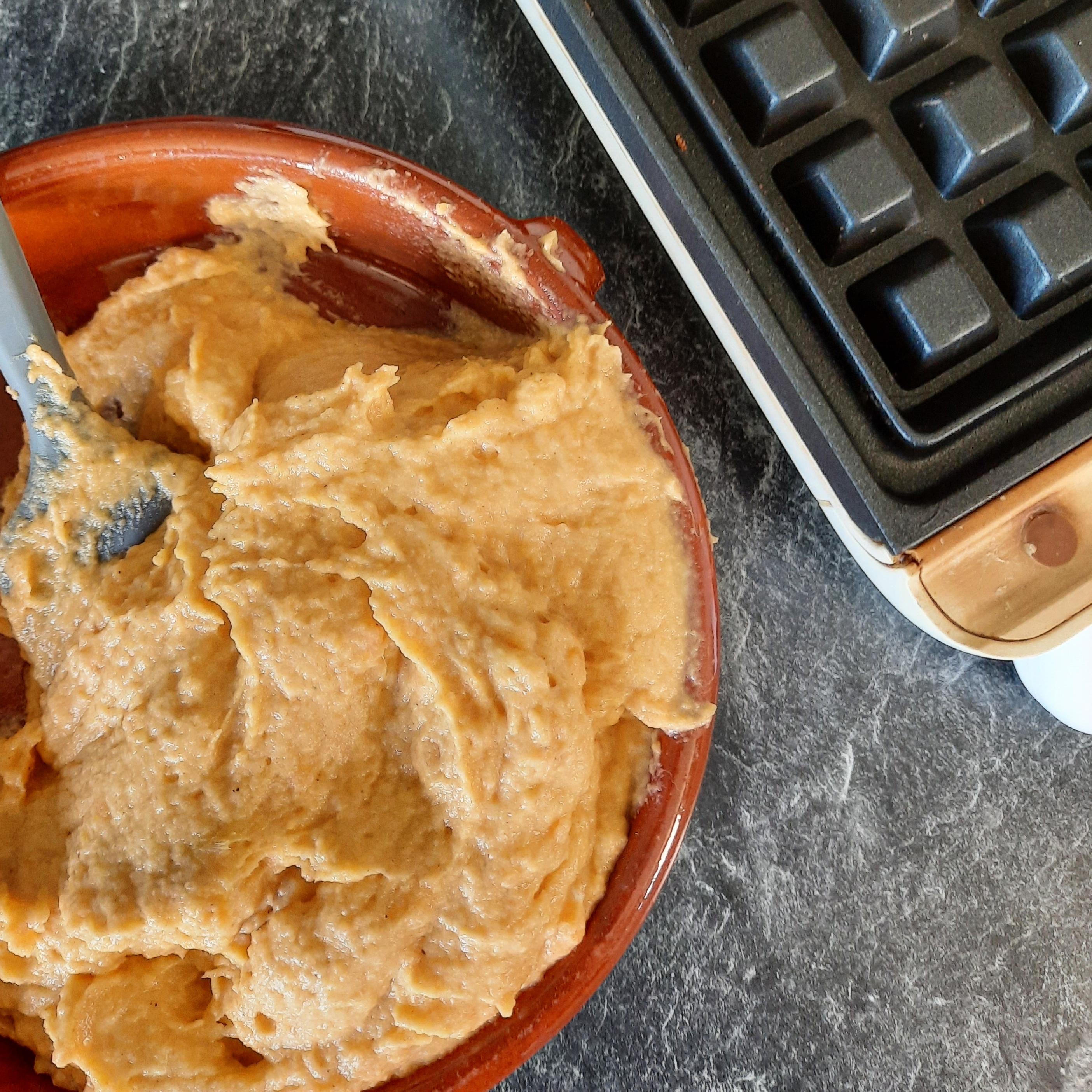Gaufres de patates douces