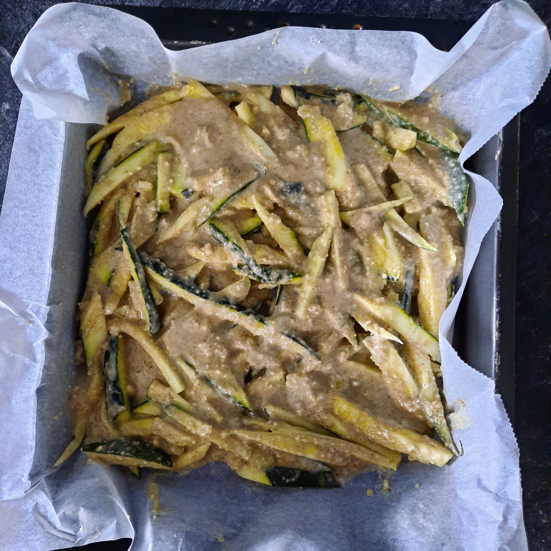 Scarpaccia courgettes parmesan IG BAS