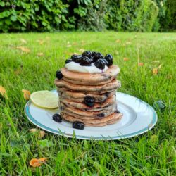 Pancakes Myrtilles Citron Vert IG Bas