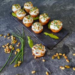 Muffins chorizo chèvre IG Bas